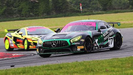 Mark Murfitt, a British GT driver from Ely was part of Fox Motorsport's double podium finish at the