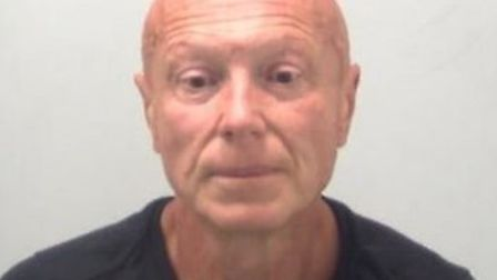 David Hudson was arrested at Stansted Airport after retuning from Spain, where he fled. Picture: ESS