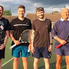 Strong result for Chatteris Tennis Club Mens 1 (pictured) after they beat Ely Mens 1 7-1 in the Camb