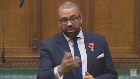 Braintree MP James Cleverly has launched his bid to become the next Prime Minister. Picture: PARLIAM