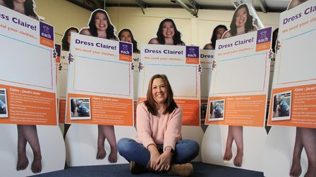 Bereaved parent Claire Wright from Cambridgeshire is the face of a new campaign which has seen donat