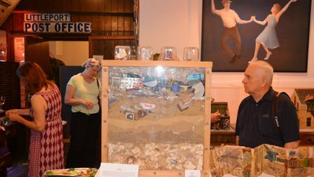 An eclectic collection of arts and crafts was on display in Littleport for the launch of the Spring