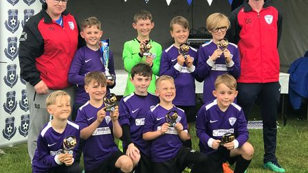 March Park Rangers Youth Football Club held their 5th annual 6-a-side football tournament. Picture:
