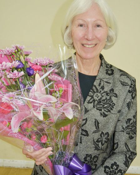 Dedication from Pos+Ability chair Linda Neate praised as she steps down after seven years. Picture: