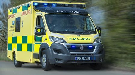 Ambulances responded to reports that a man had stopped breathing in Dunmow High Street.