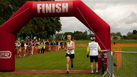 Chris Burgogne from the Springfield Strider was the fastest male, with a time of 32 minutes, 48 sec