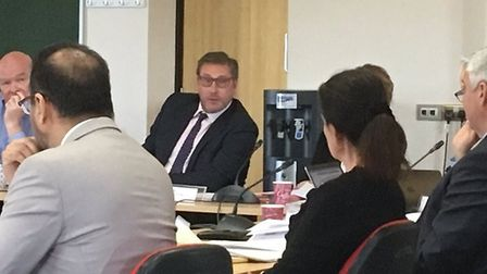 Mayor James Palmer to defer £5,000 pay rise and job pension until May 2021. Picture: ROBERT ALEXANDE