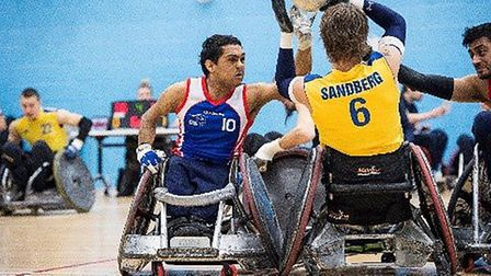 Four wheelchair rugby taster sessions are being held at Littleport Leisure Centre from Wednesday Jun