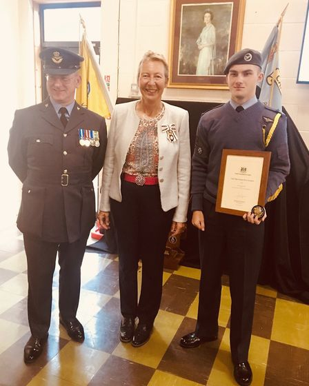 Adventurous cadet flight sergeant Rory Donoghue from Ely has been appointed as Lord Lieutenant's Cad