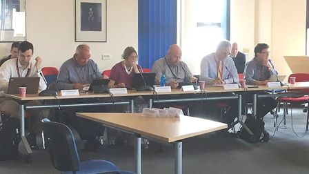 Scrutiny committee of the Combined Authority found itself arguing over political proportionality. On