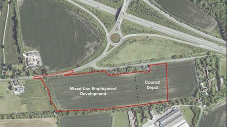 Plans to build a bin lorry depot in Little Canfield have been submitted to UDC, a year after the fir
