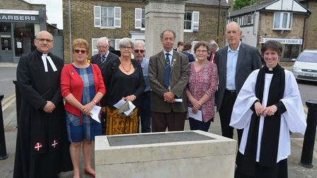 Bravery of men who lost their lives in Soham rail disaster honoured at memorial event. Picture: MIKE