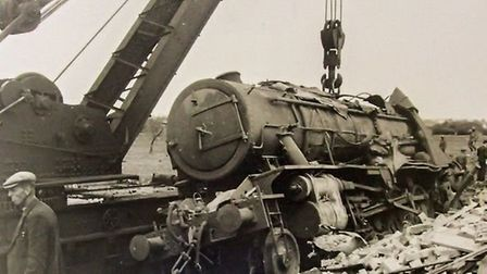 Bravery of men who lost their lives in Soham rail disaster honoured at memorial event. Picture: THE
