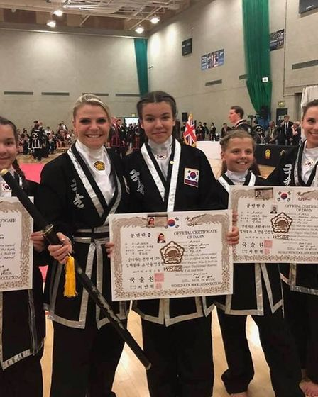 Kuk Sool Won – Ely finished joint-fourth out of 58 schools in the European Championships held in Nor
