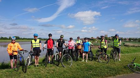 Members from King's Ely Junior and Ely Cathedral Boys' Choir took part in the 60km cycle ride from K
