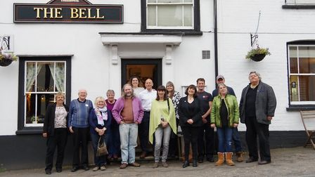 The Bardfield Artists are holding their summer exhibition at The Bell Inn