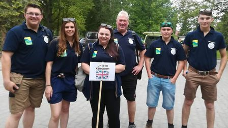 Team UK who triumphed at the Agrolympics event in Poland. Picture: JOHN NICE
