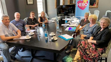 It was an emotional final meeting for the judges of this year's Ely Hero Awards as they met to decid