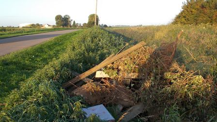 Two flytippers have been convicted of illegally dumping rubbish in Fenland – including one who was c
