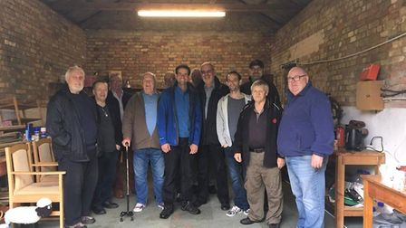 The 'Man Shed' in Soham is now officially opened. The 'go to place for men' was opened by Soham Town