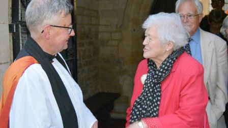 A special service was held for the licensing of the Revd Canon Dr Paul Andrews in Ely. Picture: MIKE
