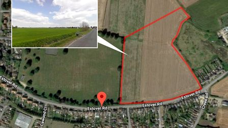 95 homes planned for this site in March have been refused on appeal. The application was refused by