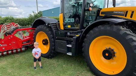 Youngsters enjoying Open Farm Sunday at G's at Barway near Ely. Picture; G'S FACEBOOK
