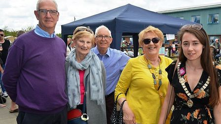 Huge crowds turned out for Open Farm Sunday at G's at their Barway farm on Sunday. The weather was g