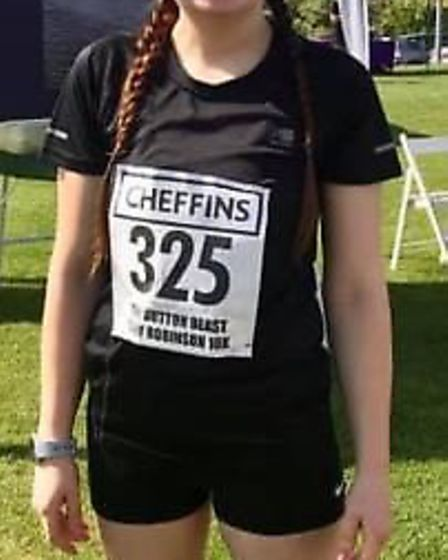 Katie Mowatt, of Chatteris, took on her first ever 10k race at the weekend as she completed the 2019