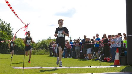Runners look to the finish line at the Sutton Beast event. Picture: IAN STACEY PHOTOGRAPHY