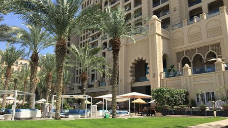 Review: Soaring skyscrapers, desert dunes that lead to adventure and enchanting entertainment are al