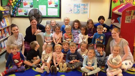 Pupils at St John's Pre School (Kids Club Ely Ltd) had the chance to read their favourite stories in