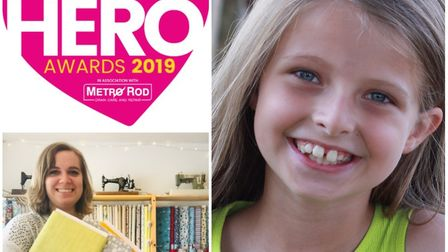 Ely Hero Awards 2019: One week to go until the winners are revealed. Finalists Maisie Prigg and Loui