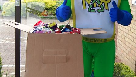 The Zero Waste Box has seen over 1,100 items disposed in four weeks. Picture: EAST CAMBRIDGESHIRE DI