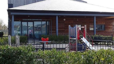 The Flitch Green playground has been closed since Thursday. Picture: CONTRIBUTED