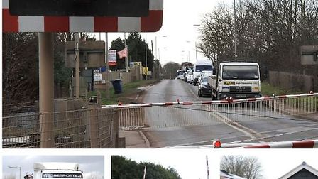 Kings Dyke Whittlesey where a replacement bridge is again threatened by delays after costs rise. May