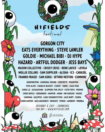 Hifields Festival 2019: One of the biggest music festivals in Cambridgeshire is returning to the cou
