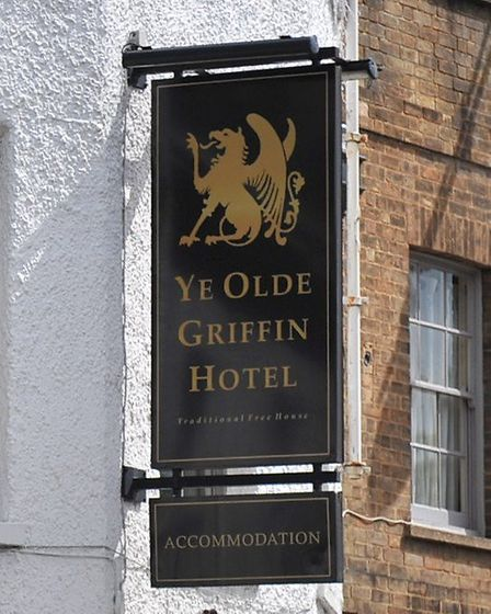 Ye Olde Griffin Hotel in March is staging a fundraising day in aid of Cancer Research UK. Picture: H