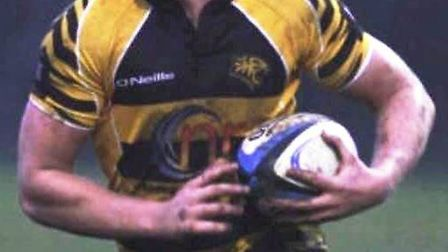 Matt McCarthy was unveiled as the new first-team captain this week. Picture: FACEBOOK/ELY TIGERS RUG