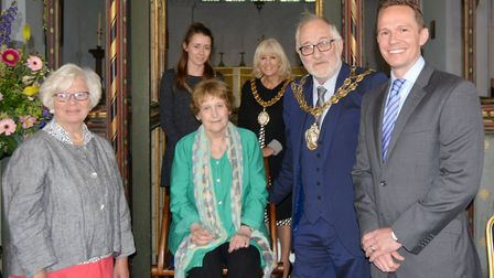 Evening of words and wisdom from award-winning poet at opening of Isle of Ely Festival 2019. Picture