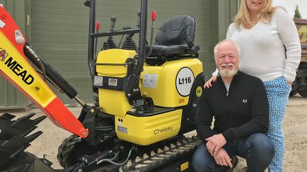 A family construction business is encouraging people to name a digger to raise money for East Anglia