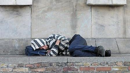 Homeless numbers in Peterborough rise by 56 per cent. Picture: ARCHANT