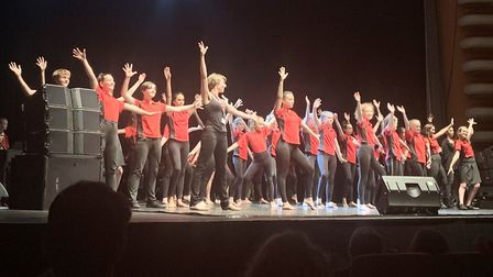 Pupils from East Cambridgeshire showcase skills at arts festival. Picture: CMAT