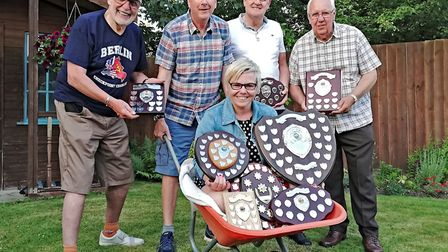 It was a picture perfect night for Jo Kelly at March Camera Club who scooped five trophies. Picture: