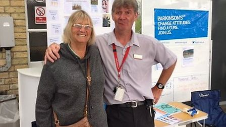 A Parkinson's support group has been announced as Ely Railway Station's charity of the month. Pictur
