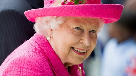 Her Majesty The Queen looking radiant in pink as she arrives at the new Royal Papworth Hospital. Pic