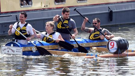 2019 Ely Aquafest: Huge crowds lined the river and the bridge over the Ouse for the annual Ely Aquaf