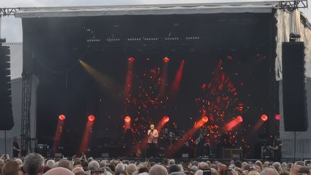 Tom Jones proves himself as a living music legend with hit-packed stadium show. Picture: HARRY RUTTE