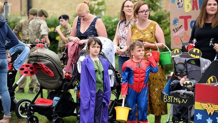 Crowds line streets of Manea for villages annual gala. Picture: IAN CARTER