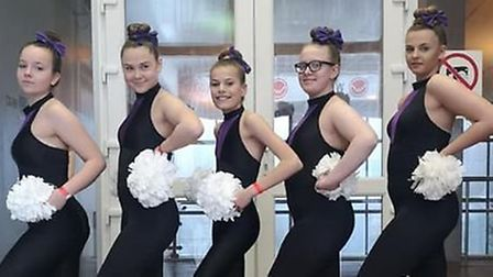 Wilburton and March based pom dance team Boss Elite is searching for funding or a sponsor to kit out